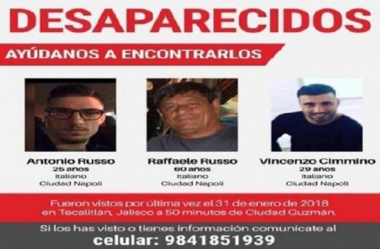 Scomparsi in Messico, le famiglie: