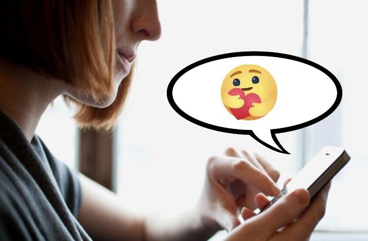 L'abbraccio: emoji di Facebook per trasmettere affetto a distanza